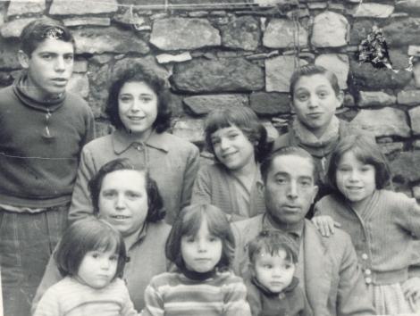 Mi familia en una foto en 1960 o 1961.