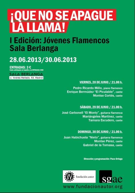 Ciclo de Jóvenes Flamencos